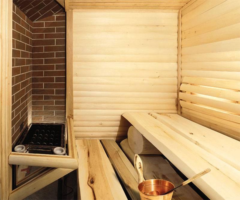 Особенности внутренней отделки бани из пеноблоков - блог о строительстве