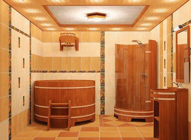 Плитка для бани: правила выбора и монтажа