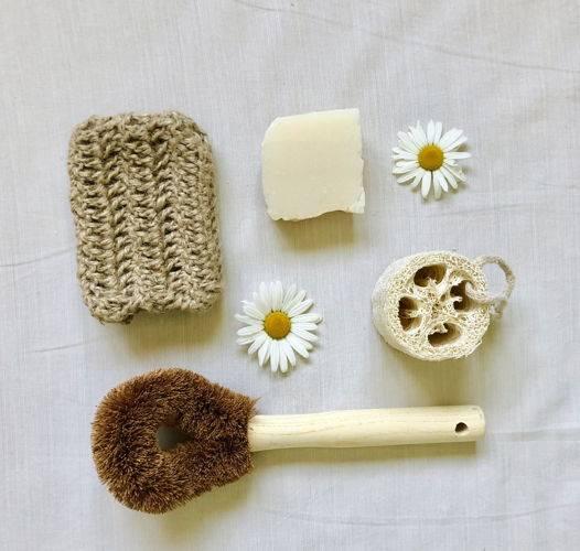 Мочалка своими руками: материалы, идеи, способ изготовления
