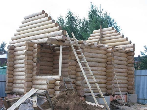 Технология строительства дома из сруба: как построить дом из сруба своими руками