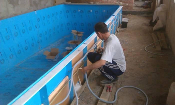 Каркас для бассейна из труб (пластиковых, пвх, профильных, полипропиленовых): как сделать каркасную конструкцию своими руками?