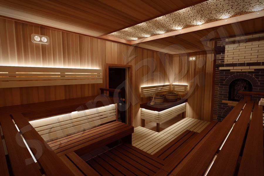 Строительство и отделка бани из кедра