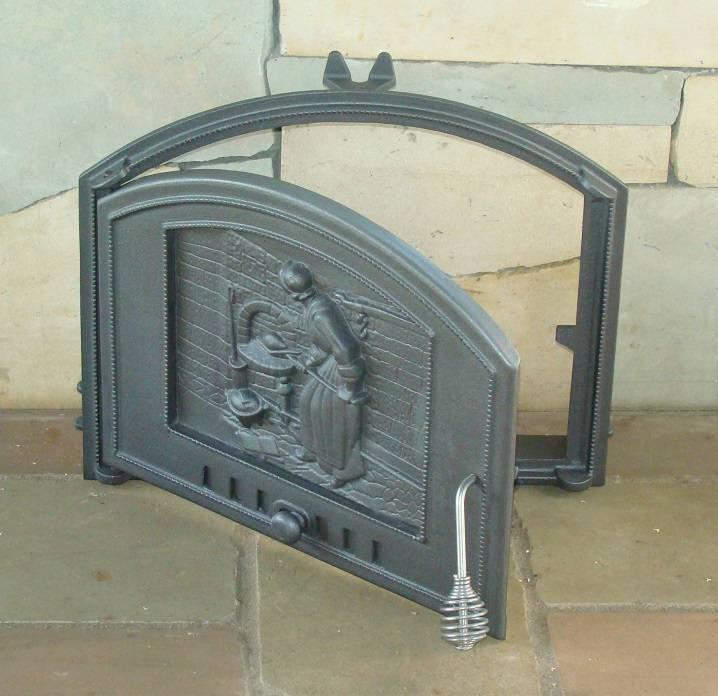 Дверцы для камина (66 фото): каминные стеклянные и кованые двери для печей своими руками, как открыть