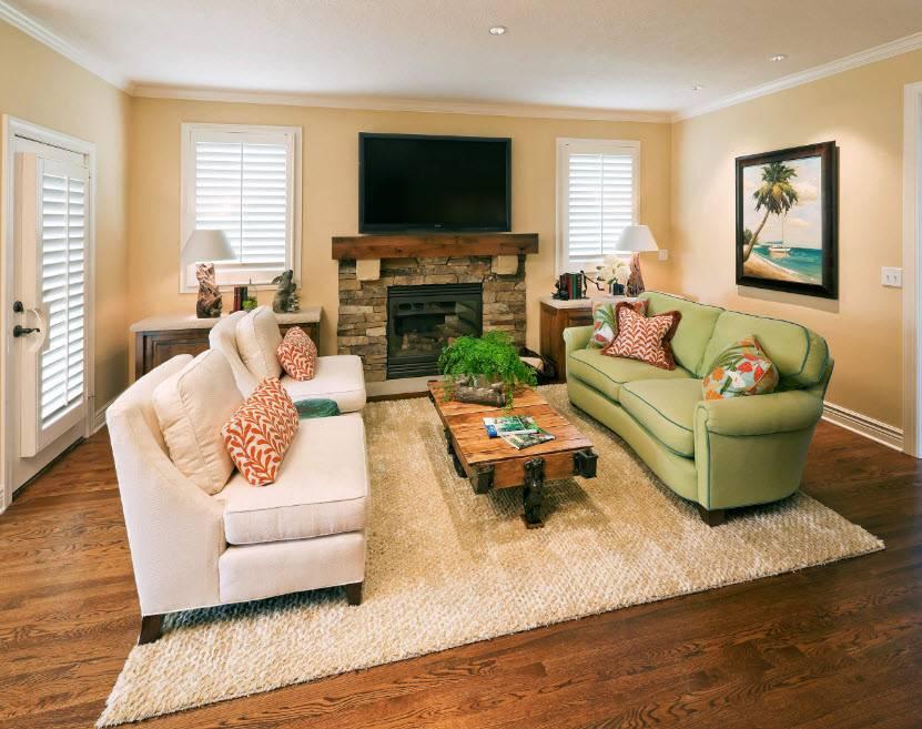 Секреты расстановки мягкой мебели в гостиной