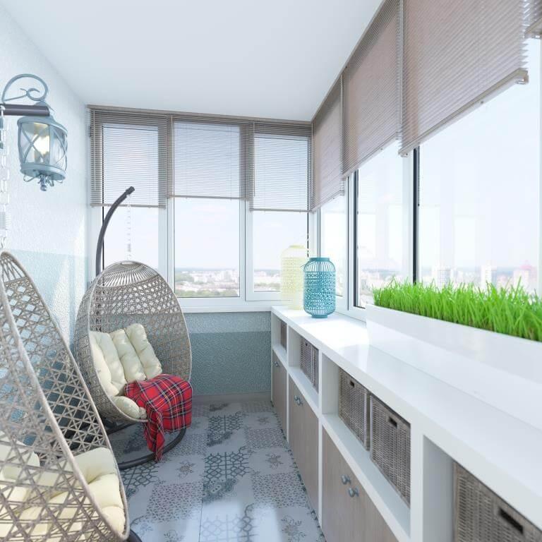 Балкон в скандинавском стиле: особенности дизайна