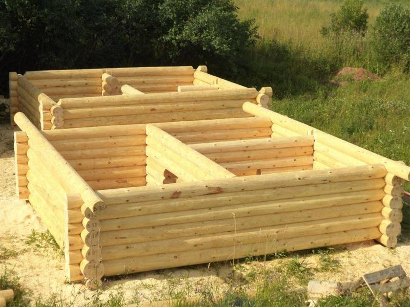 Как правильно построить сруб бани