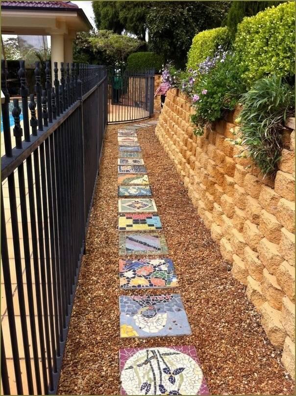 Все что нужно знать про укладку тротуарной плитки в саду