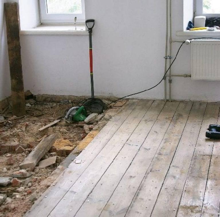 Ремонт деревянного пола своими руками: виды ремонтных работ и рекомендации специалистов