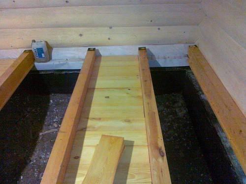 Монтаж настила деревянного пола из досок по лагам своими руками.