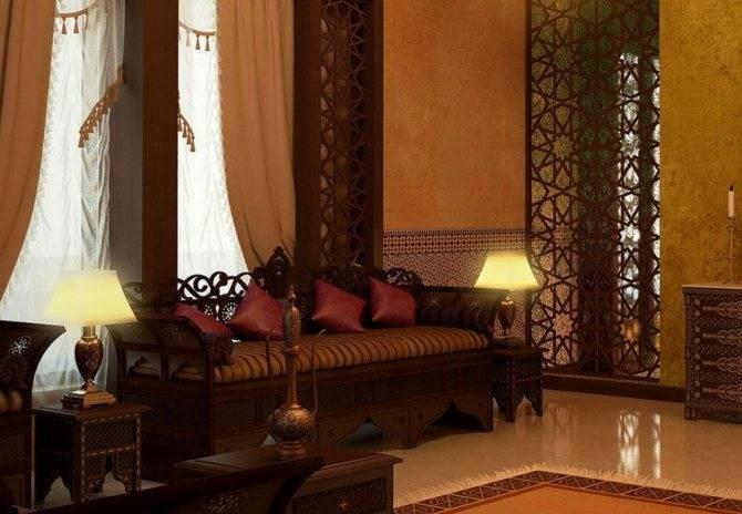 Дизайн интерьера в арабском стиле: описание и фото-примеры – rehouz