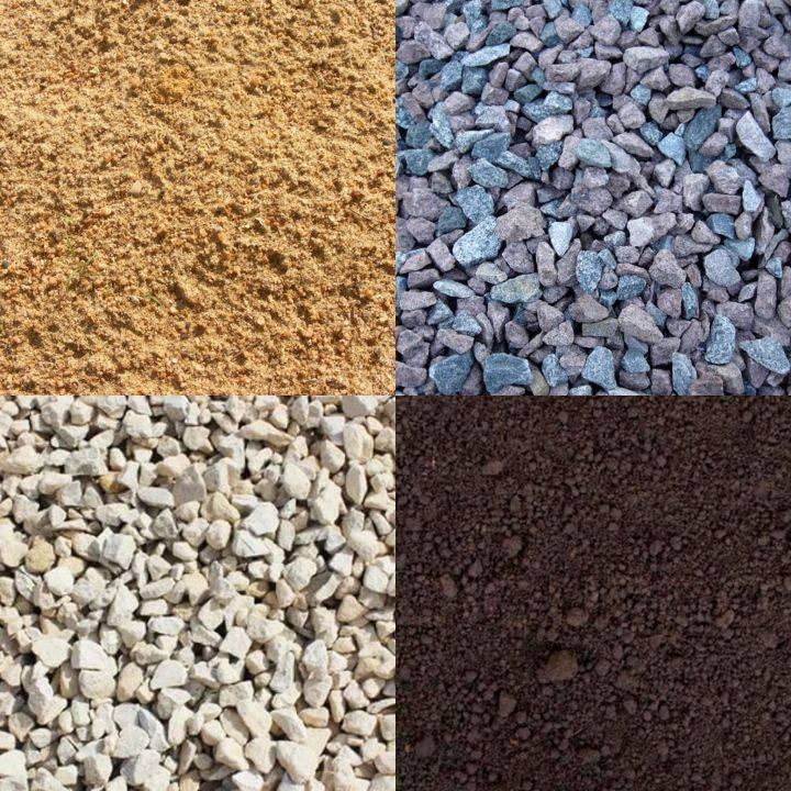 Пгс или песчано-гравийная смесь: разновидности и состав