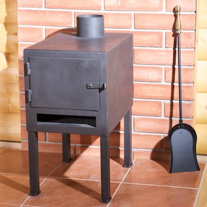 Печь металлическая для дачи: сделать своими руками железную длительного горения, дровяной камин из металла, фото