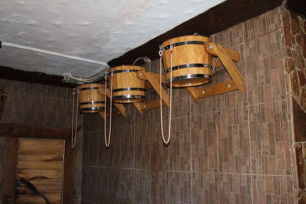 Водопад для бани - какие бывают модели и преимущества