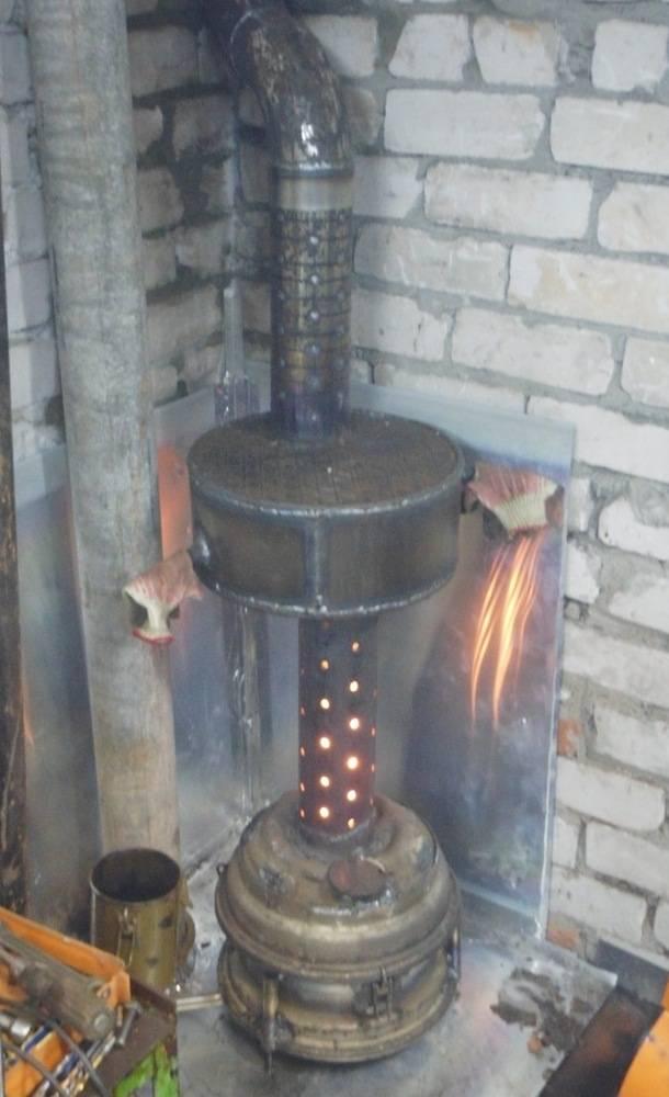 Принципы изготовления печи для бани из трубы