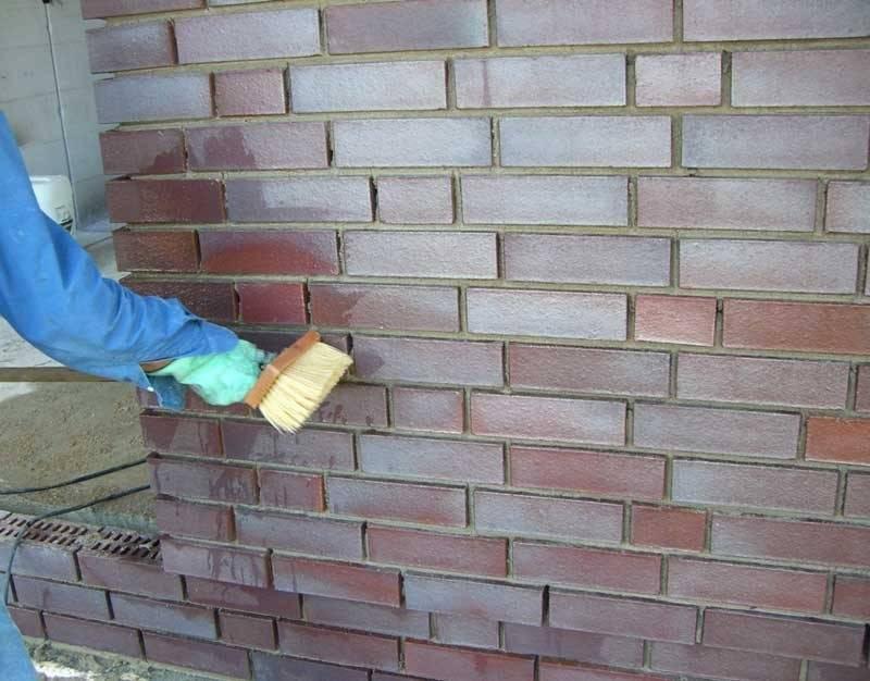 Как очистить кирпич от раствора - строительный портал