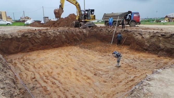 Какой фундамент нужен для песчаного грунта