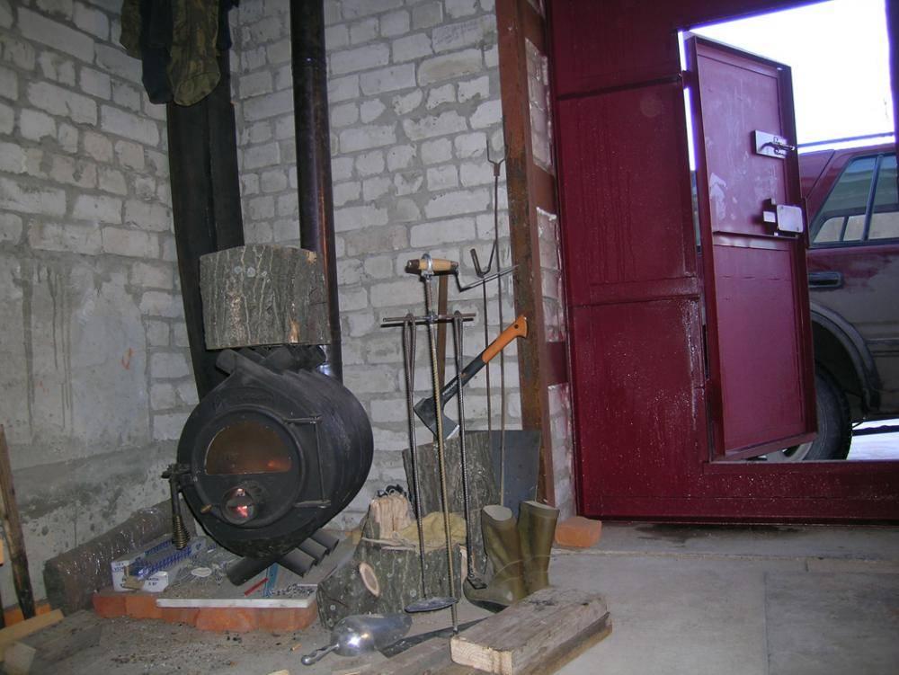 Печь для гаража: сборка своими руками, маслянная, дизельная, буржуйка, самодельные отопители