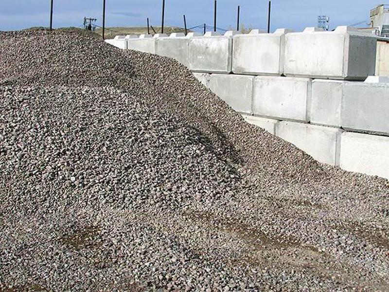 Область использования песчано-гравийной смеси в зависимости ее от вида и свойств