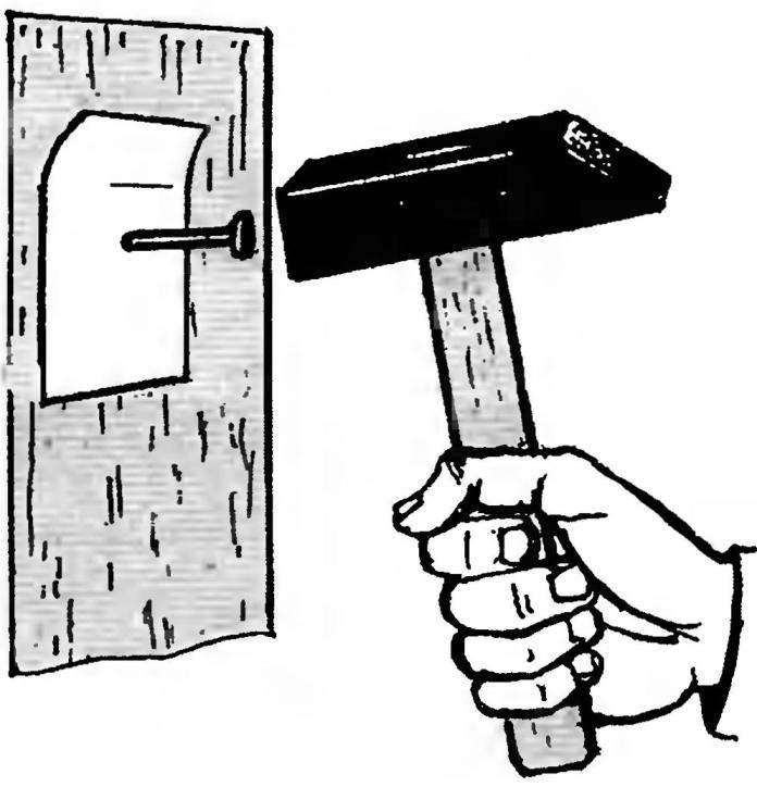 7 простых способов достать из стены старый гвоздь
