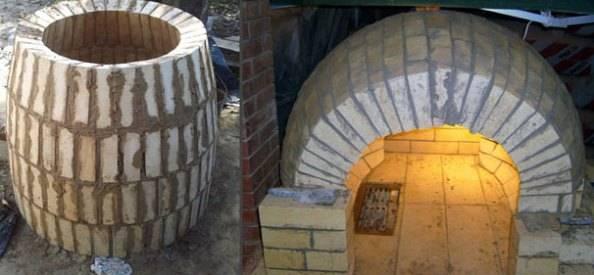 Как самостоятельно сделать печь тандыр из глины и как своими руками построить печь тандыр из кирпича
